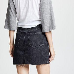 fce659e41 Madewell Skirts | Vintage Black Denim Skirt | Poshmark